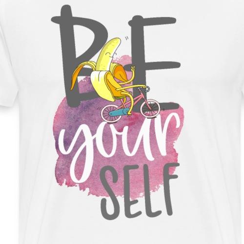 be yourself Banane - Sei sportlich und einzigartig