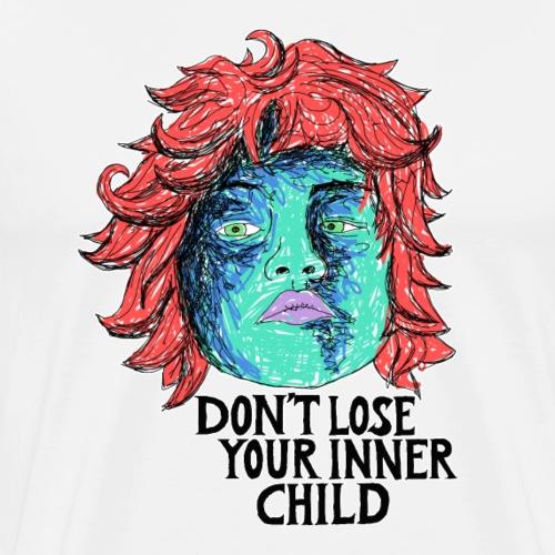 dont lose your innerchild - Männer Premium T-Shirt