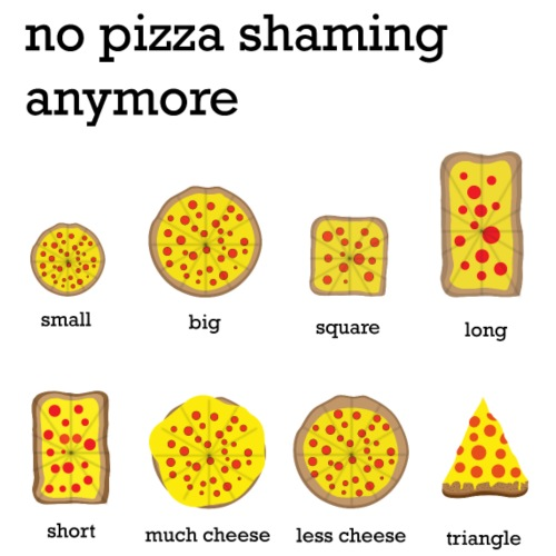 No Pizza Shaming Anymore - Männer Premium T-Shirt