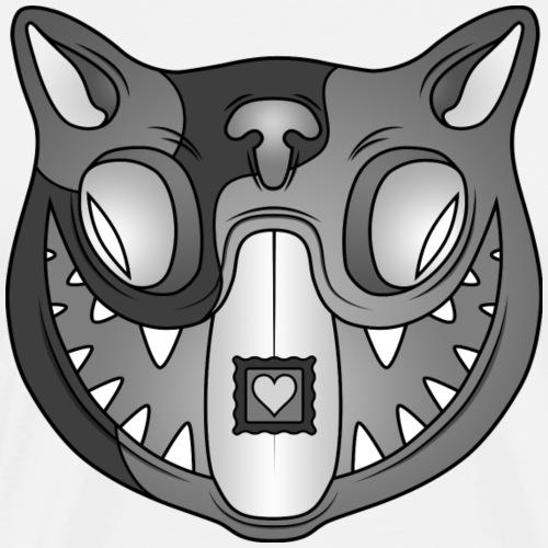 Acid Cat B/W