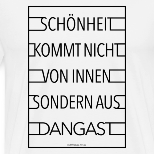 Dangast - Männer Premium T-Shirt
