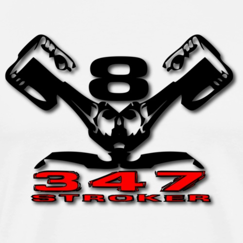 347s v8 - Herre premium T-shirt
