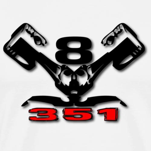 351 v8 - Herre premium T-shirt