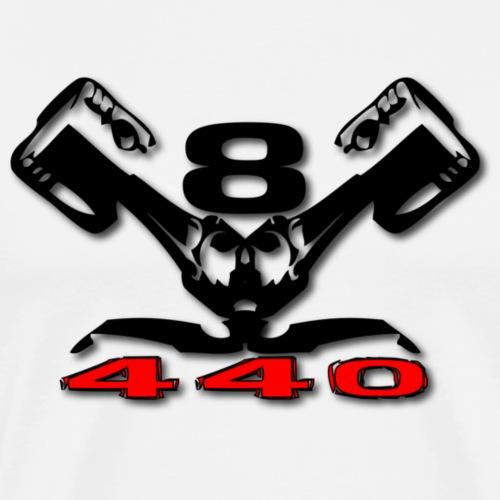 440 v8 - Herre premium T-shirt