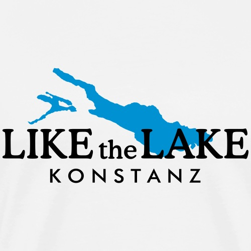 Like the Lake - Konstanz am Bodensee - Männer Premium T-Shirt