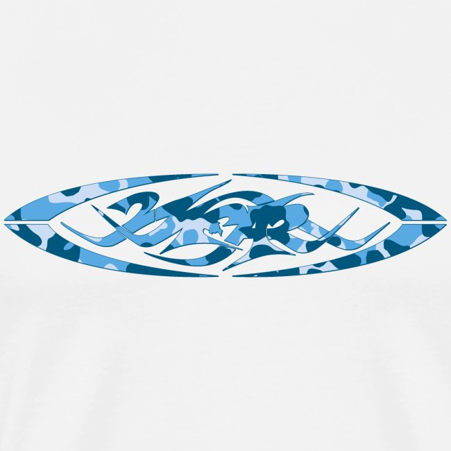 2wear original logo cammo blue