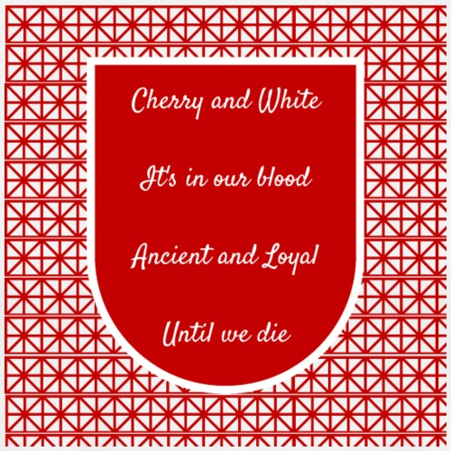 cherry and white - Men's Premium T-Shirt