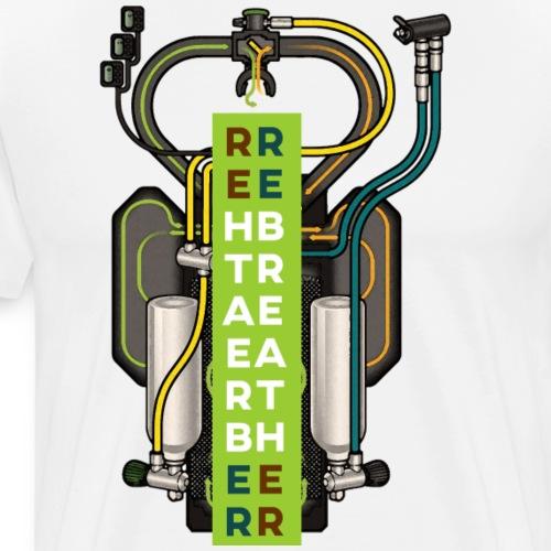 Rebreather1 - Männer Premium T-Shirt