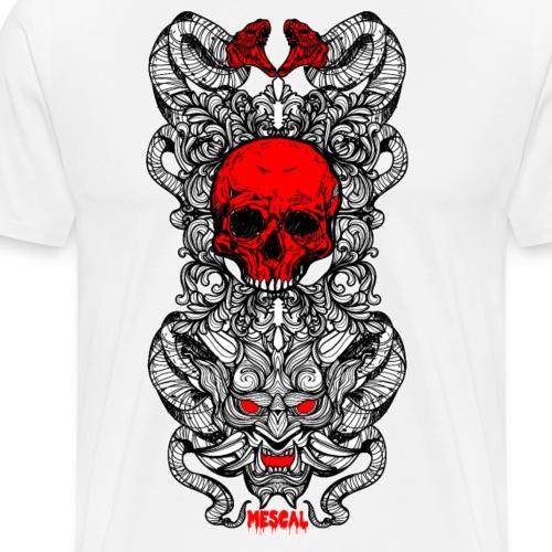 Halloween design by Mescal - Maglietta Premium da uomo