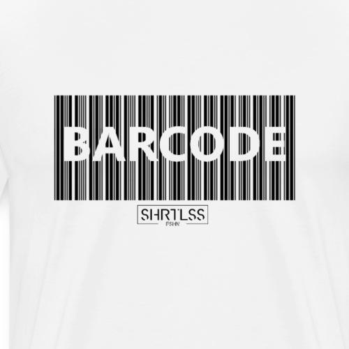 Barcode - Männer Premium T-Shirt