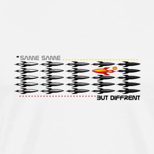 T-Shirt SAME SAME - Lustige Coole Geschenkidee - Männer Premium T-Shirt