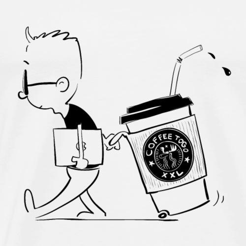 coffee togo xxl - Männer Premium T-Shirt