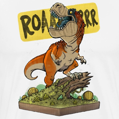 Rex ROARS - Men's Premium T-Shirt