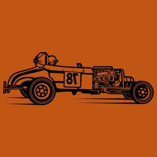 Hot Rod / Rat Rod 01_schwarz - Männer Premium T-Shirt