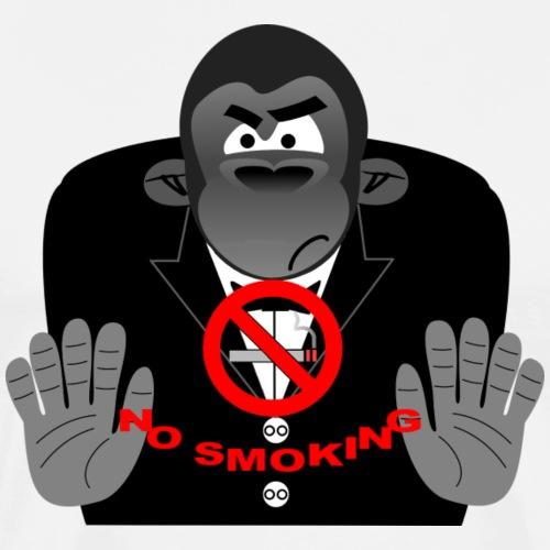 Smoking Verbot Zigarette - Männer Premium T-Shirt