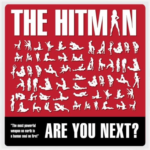 THEHITMAN png - Herre premium T-shirt