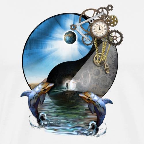 Yin Yang Time - Men's Premium T-Shirt