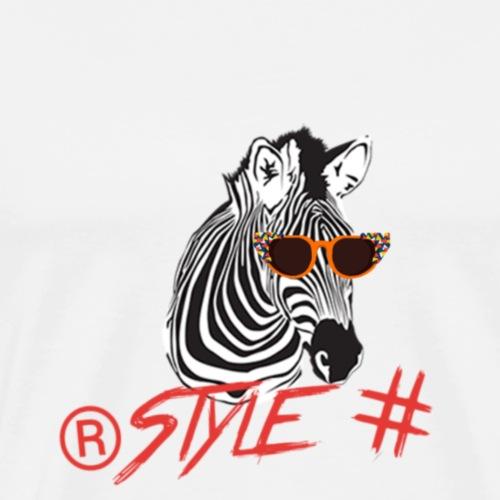 Tiere +Zebra +Zebras +Geschenk + Style + - Männer Premium T-Shirt
