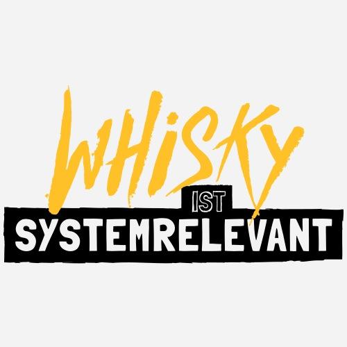 Whisky ist systemrelevant - Männer Premium T-Shirt