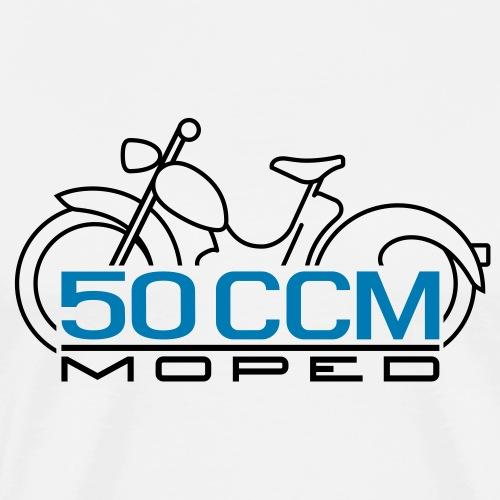 Moped SR2 50cc emblem - Men's Premium T-Shirt