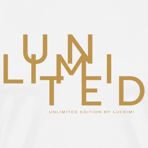 Unlimited gold - Men's Premium T-Shirt