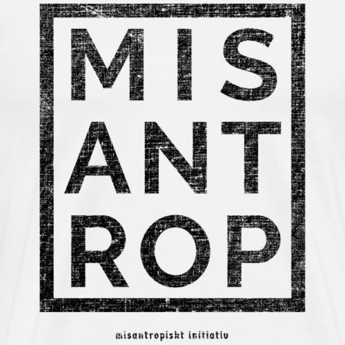 MIS ANT ROP - Svart - Premium-T-shirt herr