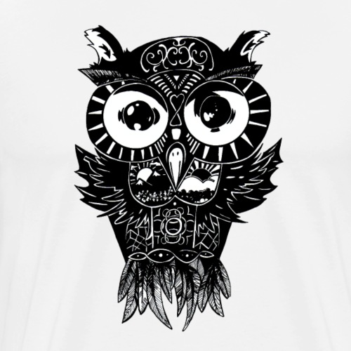 Dimension Owl - Men's Premium T-Shirt