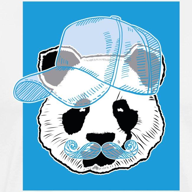 Panda - Cap - Mustache