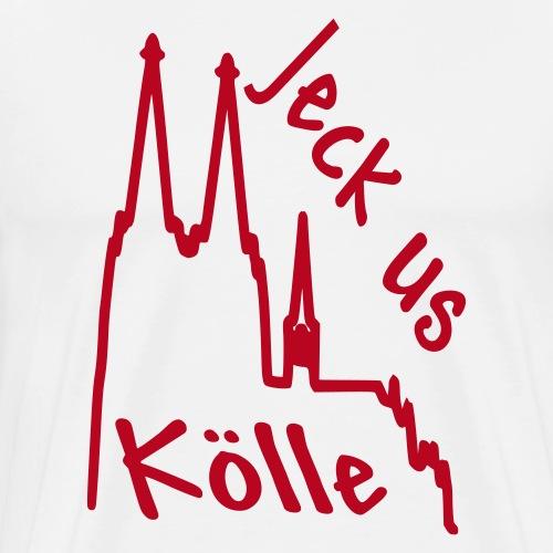 Köln - Jeck us Kölle - Männer Premium T-Shirt