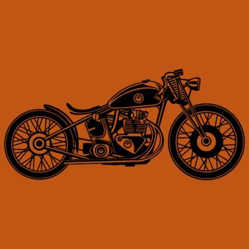 Chopper / Bobber Motorrad 09_schwarz - Männer Premium T-Shirt
