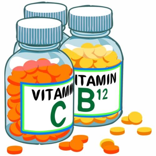 Vitamins C and B - Men's Premium T-Shirt
