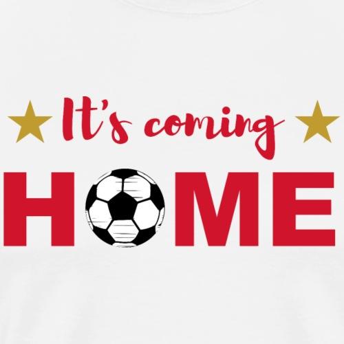 It s coming home football star gift - Männer Premium T-Shirt