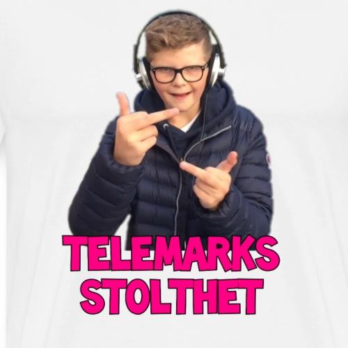TELEMARKS STOLTHET - Premium T-skjorte for menn