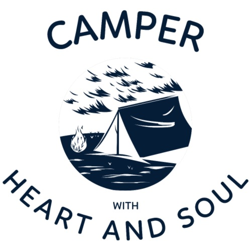 Camper with heart and soul - Männer Premium T-Shirt
