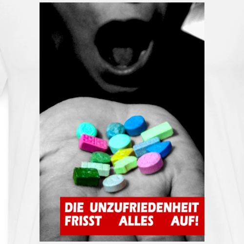 Unzufriedenheit - Männer Premium T-Shirt