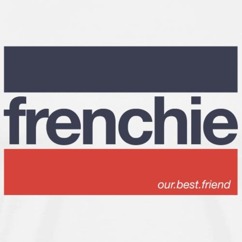 Frenchie Stripes - Französische Bulldogge - Männer Premium T-Shirt