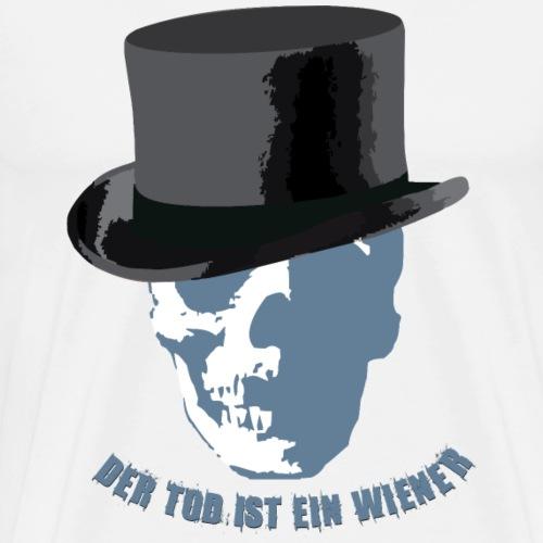 der Tod ist ein Wiener - Männer Premium T-Shirt