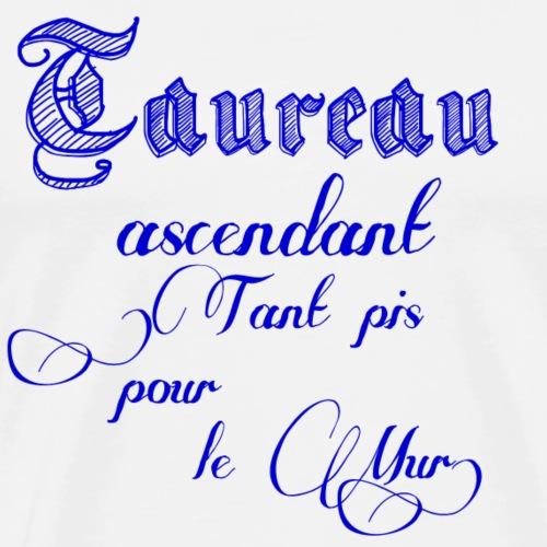 taureau signe astrologique - T-shirt Premium Homme