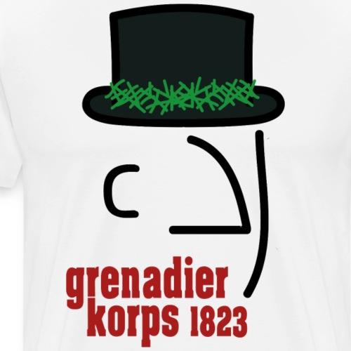 Grenadierkorps - Männer Premium T-Shirt