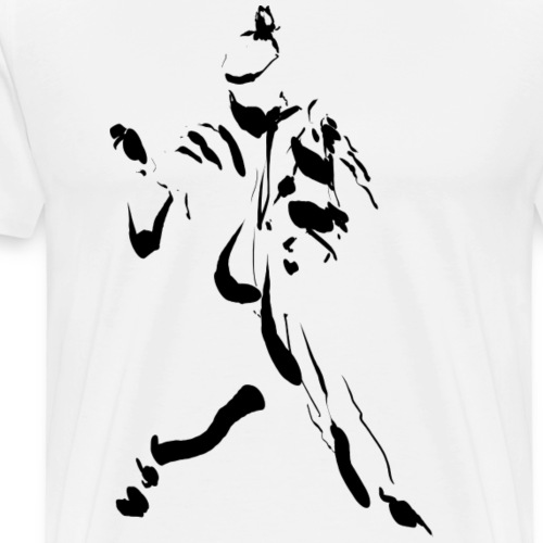 kung fu ink - Men's Premium T-Shirt