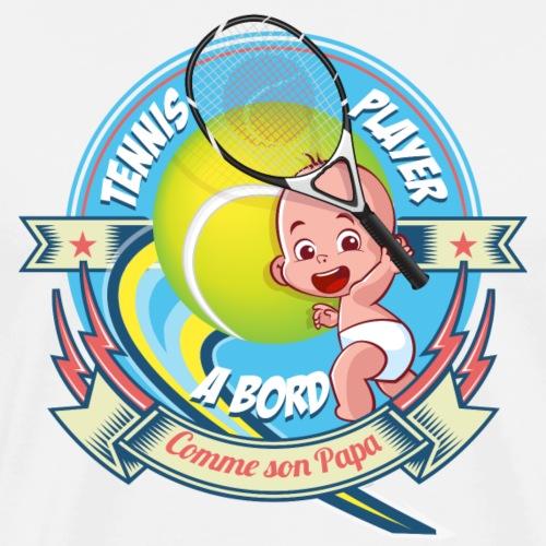 BABY TENNISMAN - T-shirt Premium Homme
