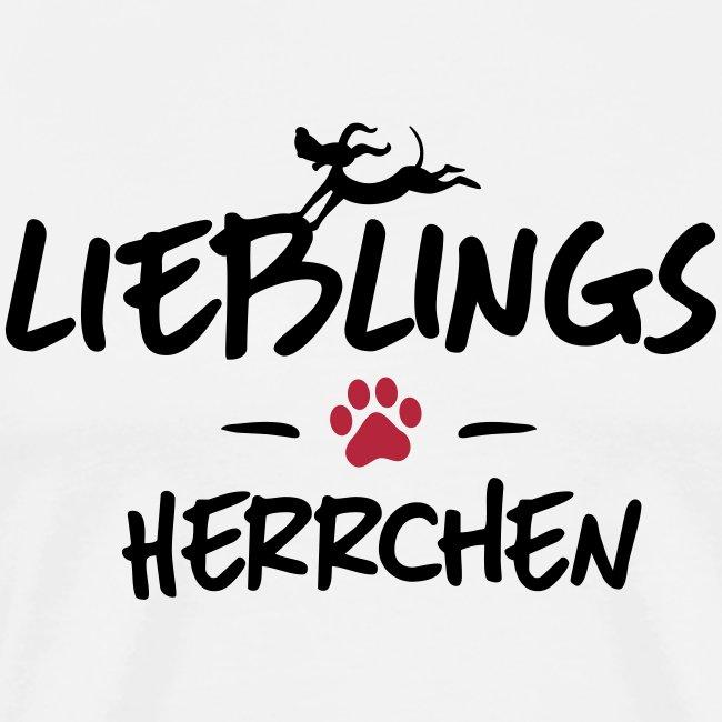 Vorschau: lieblings herrchen - Männer Premium T-Shirt