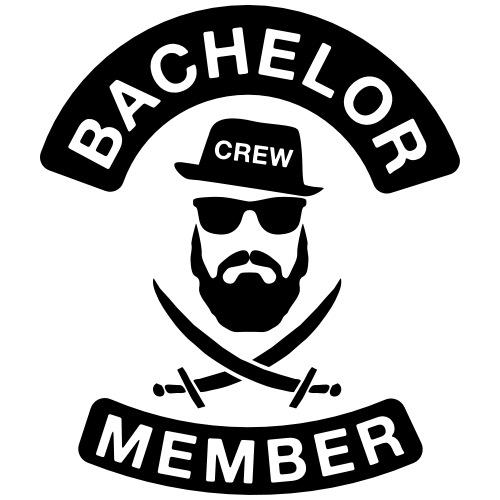 Bachelor Crew member - JGA T-Shirt - Bräutigam - Männer Premium T-Shirt