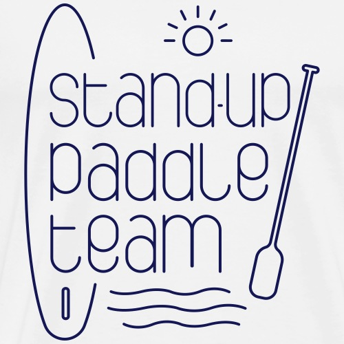 Stand-up paddle team - T-shirt Premium Homme