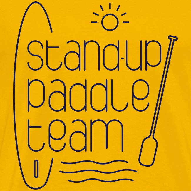 Stand-up paddle team