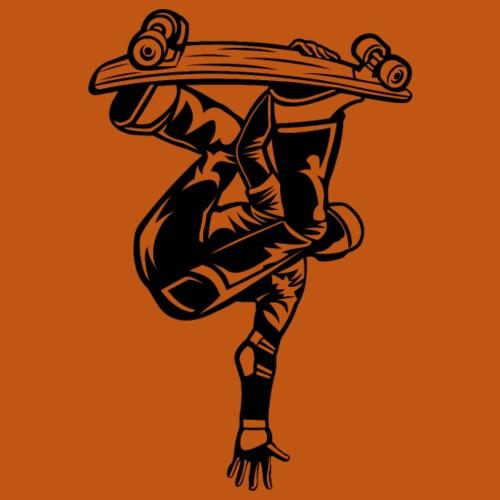 Skater / Skateboarder 03_schwarz - Männer Premium T-Shirt