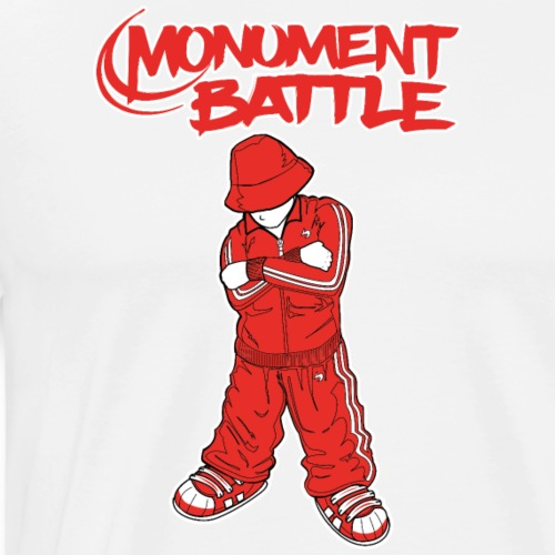 Monument Battle - Männer Premium T-Shirt