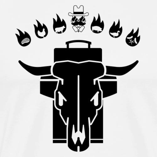 GRILL BADGE v46S - Männer Premium T-Shirt
