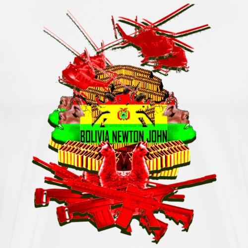 BOLIVIA NEWTON JOHN - Men's Premium T-Shirt