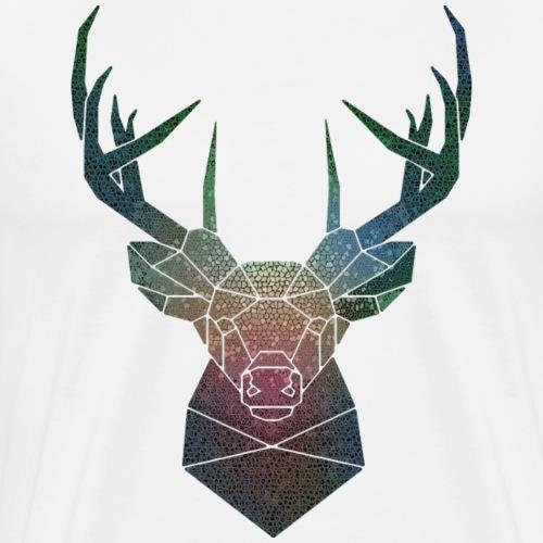 Cervo di colore - Maglietta Premium da uomo
